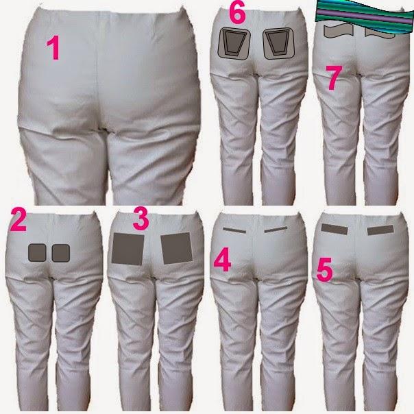 auf Lager Original Rabatt-Verkauf Schnittkonstruktion und Paßform von Hosen