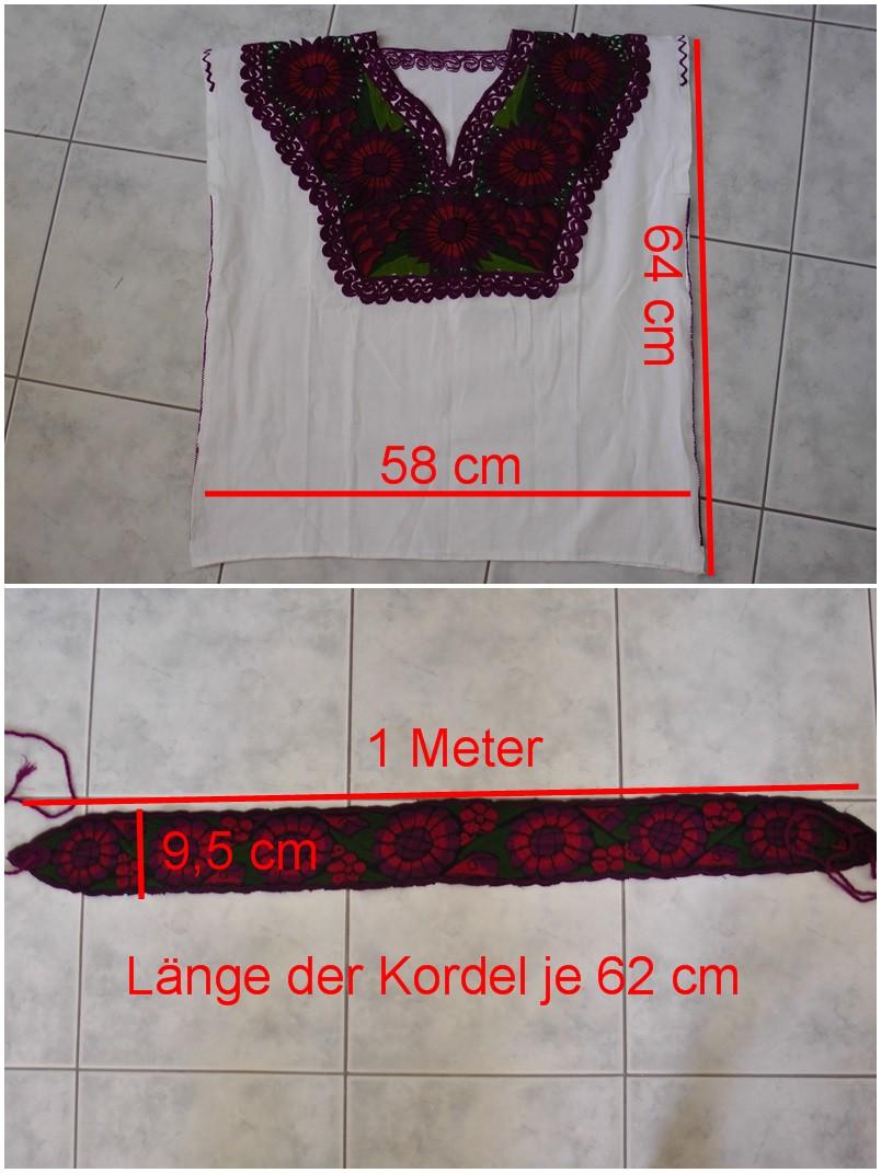 Eine Bluse oder ein Kleid…ohne Schnittmuster und zum Handnähen.  
